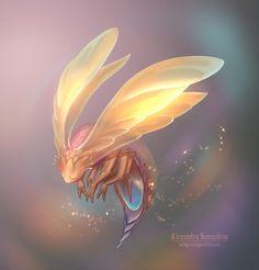 Sandlady's art Alien Creatures, Magical Creatures, Fantasy Creatures, Creature Feature, Creature Design, Character Art, Character Design, Fantasy Beasts, Creature Drawings