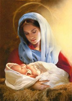 Simon Mendez - Mary and baby Jesus Blessed Mother Mary, Blessed Virgin Mary, Religious Photos, Religious Art, True Devotion To Mary, Jesus E Maria, Images Of Mary, Mama Mary, Christmas Nativity Scene