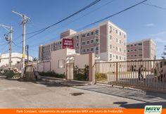 Paisagismo do SunCoast. Condomínio fechado de apartamentos localizado em Lauro de Freitas / BA.