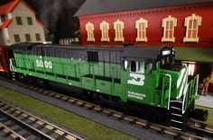 Find It Locally http://mthtrains.com/30-20259-1 Now arriving the 2015 MTH RailKing O Gauge C30-7 . Featured the 2015 Volume 1 RailKing & Premier O gauge Trains Catalog the C30-7 comes in Burlington Northern 30-20259-1, Conrail 202260-1, Norfolk & Western 30-20261-1, and Ohio Central 30-20262-1. The RailKing C30-7 operates on O-31 curves and these 2015 models have a MSRP of $329.95. Ask your MTH Dealer about getting one today.