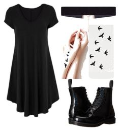 """""""Без названия #8"""" by venagallagher on Polyvore featuring мода, Dr. Martens и 8 Other Reasons"""