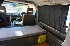 Mitsubishi Starwagon Kombi Interior, Driving Miss Daisy, Camper Conversion, Camping Ideas, Van Life, 4x4, Road Trip, Inspiration, Outdoor
