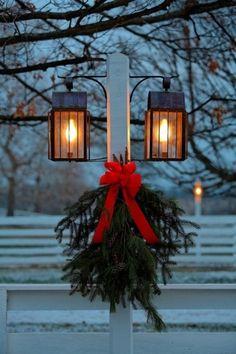 Winter lamp post. Lexington, Kentucky