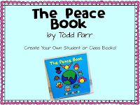 Students create their own Peace Books
