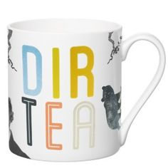 Dir TEA  Bone China Mug