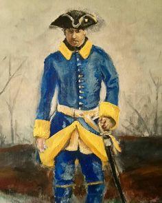 Swedish Carolean captain Samurai, Armature, Flags, Sweden, Vikings, Battle, Empire, Military, War