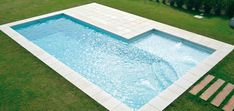 Small Inground Pool, Small Swimming Pools, Small Pools, Swimming Pools Backyard, Swimming Pool Designs, Backyard Pool Landscaping, Backyard Pool Designs, Small Backyard Pools, Outdoor Pool