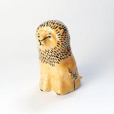 Illustration and ceramics by Jen Collins Ceramic Animals, Clay Animals, Prop Design, Design Art, Ceramic Pottery, Ceramic Art, Lion Images, Mural Art, Animal Sculptures