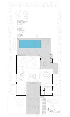 Casas minimalistas por VISMARACORSI ARQUITECTOS