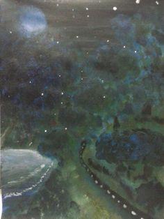 """""""Aurora's World"""" Painted By Fadi Abu-Deeb"""