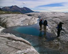 McCarthy Alaska Mountains Backpacking & Hiking Pictures Photos, Wrangell-St. Elias National Park - Guided Alaska Hiking and Backpacking Adventures