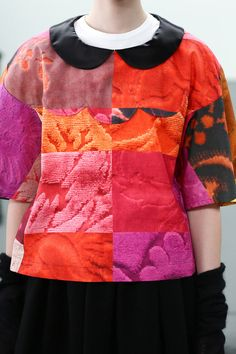 [No.43/69] tricot COMME des GARÇONS 2014~15秋冬コレクション | Fashionsnap.com