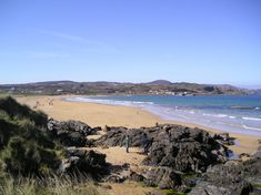Culdaff Beach is an absolutely gorgeous Blue Flag Beach on the Northern coast of Inishowen overlooking the Atlantic Ocean. During the summer months, there are L Rock Pools, Lifeguard, Atlantic Ocean, Summer Months, The Rock, Beaches, To Go, Coast, Waves