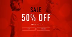 featured brands , #nike, #pacsun,love to shop ,we are young 50% online!!!