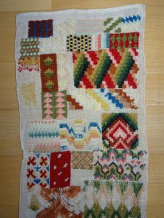 Antique Stickmustertuch Needlework Old Sampler Embroidery XL Historismus Needlework, Quilts, Embroidery, Blanket, Ebay, Antiques, Cards, Patterns, Costura