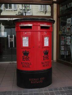 Postbox in Gibraltar