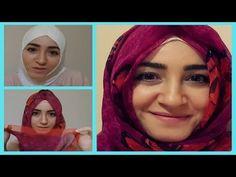 Hijab tutorial with chiffon scarf - Hijab Tutorials - Hijab Styles