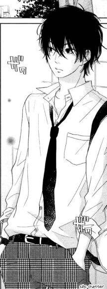 Haru   Anime: Tonari no Kaibutsu-kun. Why is he so sexy?!