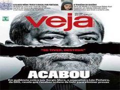 """Boechat - Capa da Revista Veja - """"Se tiver, Destrua"""" - ACABOU"""