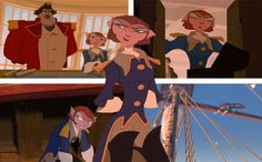 Captain Amelia is one of the best females in Disney. . .You will not tell me otherwise.