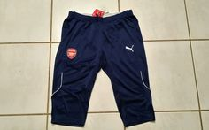 NWT PUMA Arsenal 2014/15 Soccer Training Shorts Men's XL in Sports Mem, Cards & Fan Shop, Fan Apparel & Souvenirs, Soccer-International Clubs | eBay