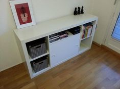 20 Excellent IKEA Hacks You Should Try | Mental Floss - Bottom right is a litter box shelf. Brilliant!