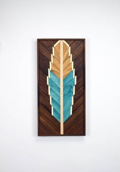 Feather Wall Art #2 // by Roaming Roots Studio