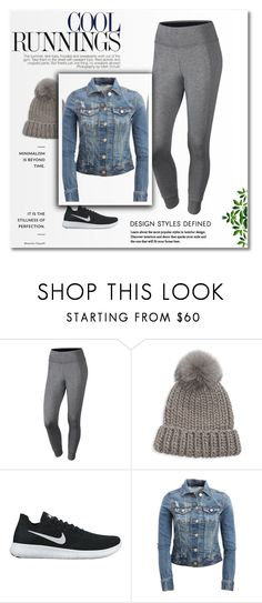 """Grey"" by dijana1786 ❤ liked on Polyvore featuring NIKE, Eugenia Kim and Aéropostale"