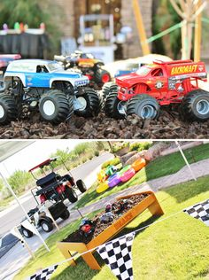 Awesome Monster Jam Truck Party! {Boys Birthday}