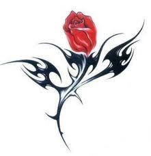 Image from http://1.bp.blogspot.com/-A6F8qj42r-A/Teh8LtqK7VI/AAAAAAAAAHk/MnR1TWwI4Xs/s320/Flower+Tribal+Rose+Tattoo+Designs+Picture.jpg.