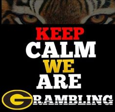 We are Grambling State University!