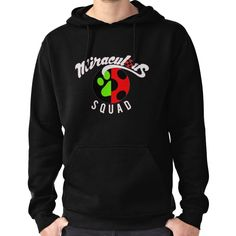 Miraculous Squad Hoodie (Pullover)