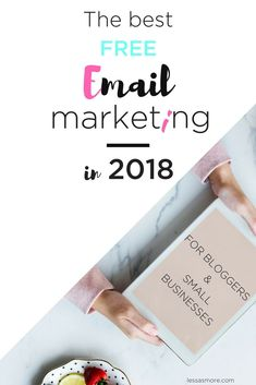 Do you want to know which is the best and most affordable Email Marketing Service for bloggers, startups, and small businesses? #emailmarketing #subsriberslist #explodetraffic #growyourblog #lessasmore