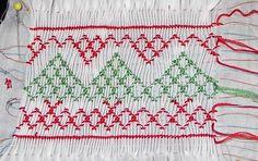 Christmas Smocking Design Pattern