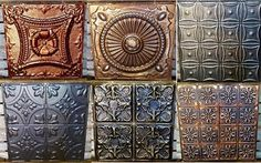 Painted Tin Ceiling Tiles - Buy Online