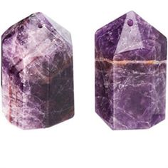 Amethyst Salt and Pepper Shaker  A girl can dream right?
