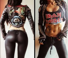 Toxic vision. Iron maiden<3 So want
