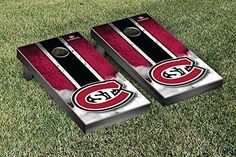 St Cloud State University SCSU Huskies Cornhole Game Set Vintage Version >>> More info could be found at the image url.