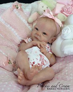 "Sally by Bonnie Brown 19"" reborn doll KIT ... SOLD OUT !!!"