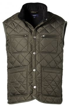 Quilted vest by GANT by Michael Bastian