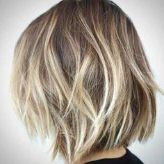 15 Balayage Bob Hair | http://www.short-haircut.com/15-balayage-bob-hair.html