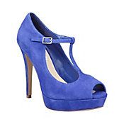 Sexy blue suede t-strap-Even though I would have no were to wear these, but I still want them