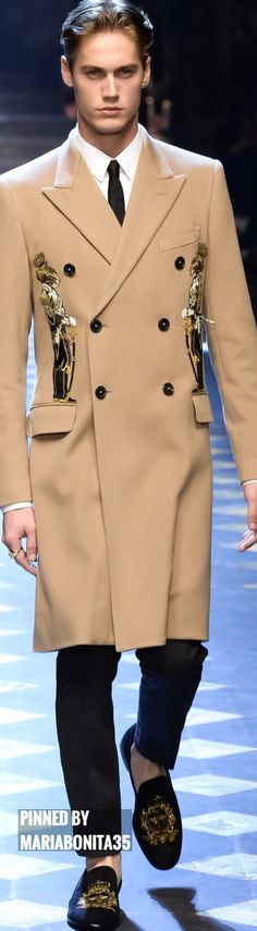 www.2locos.com Dolce & Gabbana Fall 2017 Menswear
