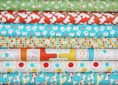 Savanna Bop fat quarter bundle7 pieces13/4 by freshsqueezedfabrics, $18.37    Please help me win this, I need 18 repins :) If you leave a comment i'll repin you thanks...