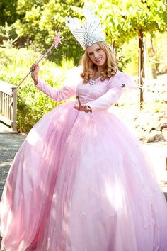 wizard of oz costume ideas   Glinda Wizard of Oz Adult Costume Good Witch   Holiday Ideas