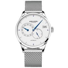 The narrow stainless steel THOMAS SABO watch stands out with its elegant mesh bracelet and is virtually unparalleled in terms of style as a result of its sleekness. Mesh Bracelet, Bracelets, Bracelet Watch, Stainless Steel Mesh, Stainless Steel Jewelry, Thomas Sabo, Michael Kors Jewelry, Michael Kors Watch, Mesh Armband