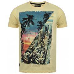 Tee Shirt Tokyo Laundry Cali York Jaune - LaBoutiqueOfficielle.com