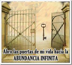 ORACIONES MILAGROSAS: Poderosa oración corta para abrir las puertas de nuestra vida hacia la Abundancia Infinita (Rezar por 7 días seguidos ...