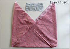Hier kommt die versprochenen Anleitung für die schnelle Origamitasche. Ihr braucht zwei Rechtecke. Für den Henkel ein 10 x 25 cm großes St...