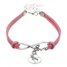 Pulsera Infinito Rosa Personalized Items, Bracelets, Silver, Jewelry, Roses, Bangle Bracelets, Jewellery Making, Jewlery, Jewelery